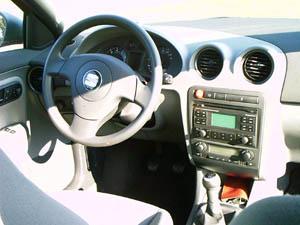 Seat ibiza 1 4 16v auto redaktionauto redaktion for Seat ibiza innenraum