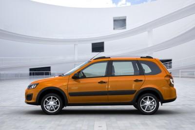 Der neue Lada Kalina Cross. Foto: Lada Automobile GmbH.