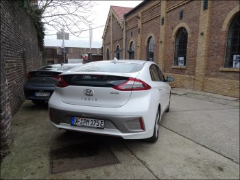 Hyundai Ioniq Elektro. Foto: Petra Grünendahl.