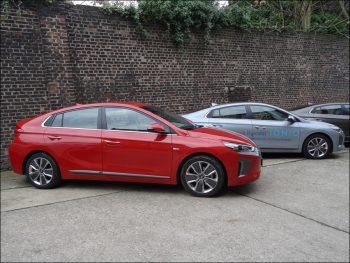 Hyundai Ioniq Hybrid. Foto: Petra Grünendahl.